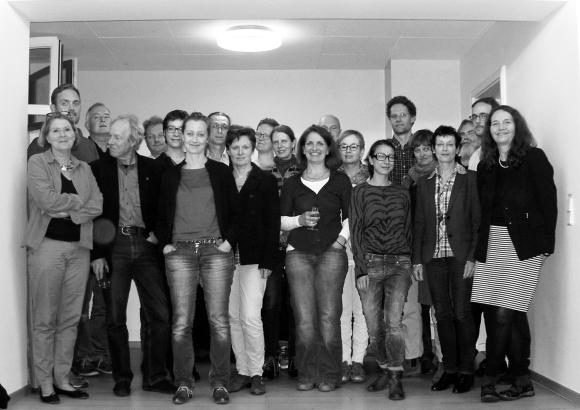 Bild der Gründungsmitglieder der Genossenschaft